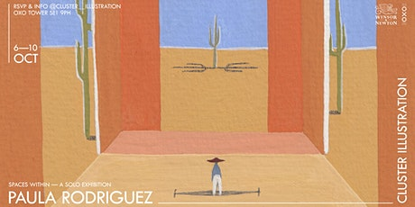 """Cluster Illustration Solo Exhibition by Paula Rodriguez """"Spaces Within"""" tickets"""