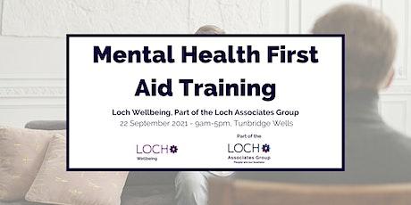 Mental Health First Aid Course - Tunbridge Wells tickets