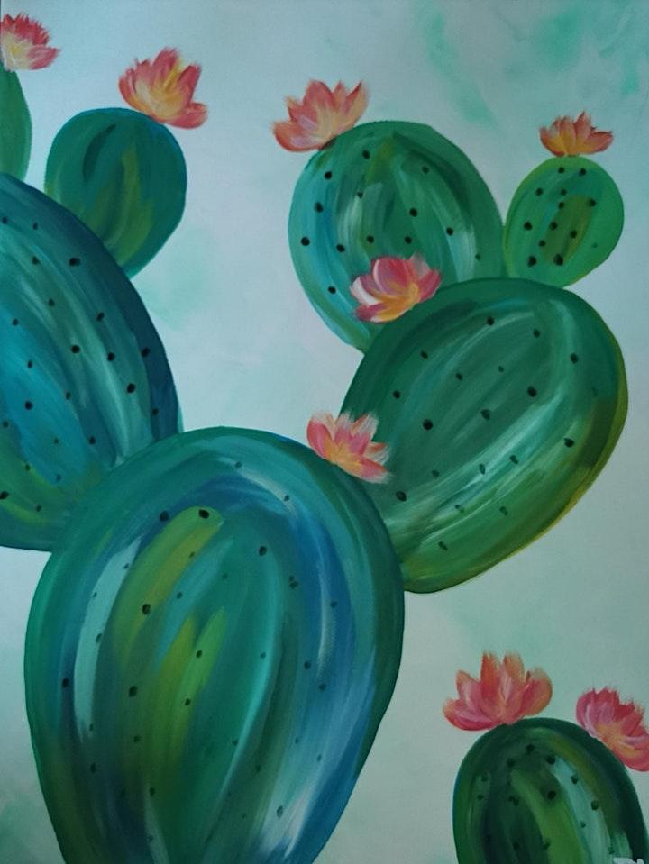 Bei dieser ArtTime könnt ihr euch das Motiv aussuchen - Kaktus oder Kakadus, ihr habt die Wahl & ich leite beide Motive an!