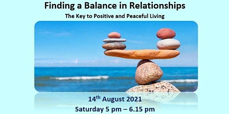 Finding a Balance in Relationships tickets