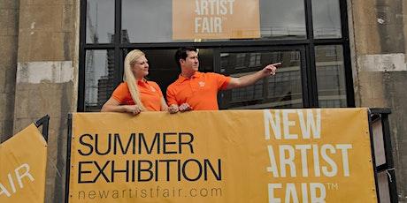 New Artist Fair, London 1st to 3rd October 2021 tickets