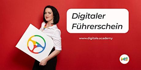 Digitaler Führerschein - Online Marketing Grundlagen Seminar tickets