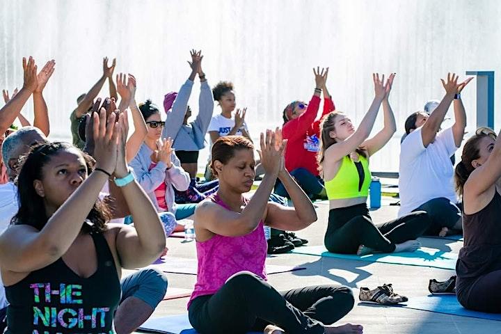 Saturday Morning Yoga at National Harbor image