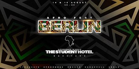 AFRO FEST Berlin Tickets