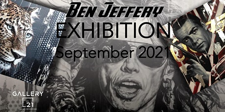 'Meet The Artist' Ben Jeffery - an exhibition of original paintings tickets