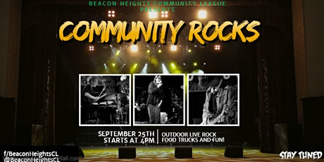Beacon Heights Community League Presents Community Rocks! tickets