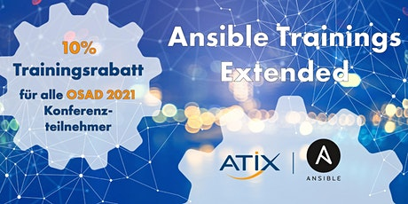 Ansible Training - Extended tickets