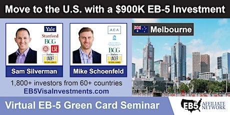 U.S. Green Card Virtual Seminar – Melbourne, Australia tickets