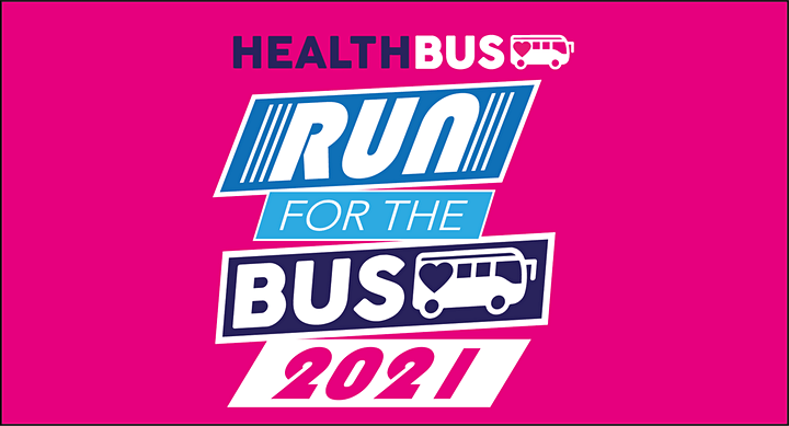 'RUN for the BUS!' HEALTHBUS TRUST VIRTUAL FUN RUN 2021 image
