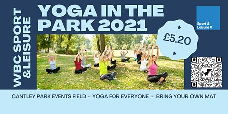 SPORT AND LEISURE Yoga in the Park - Cantley Park tickets