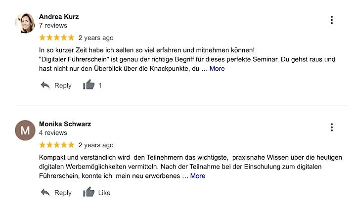Digitaler Führerschein - Online Marketing Grundlagen Seminar image