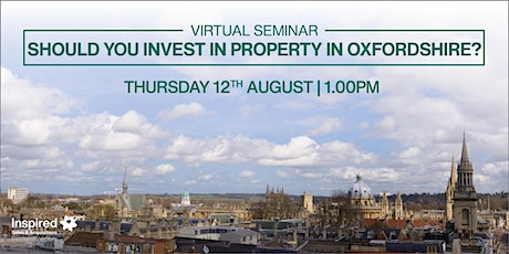 Virtual Seminar: Should You Invest in Property in Oxfordshire? tickets