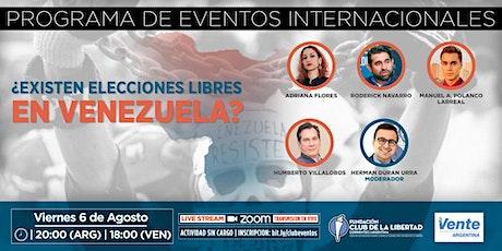CLUB DE LA LIBERTAD - ¿ EXISTEN ELECCIONES LIBRES EN VENEZUELA ? entradas