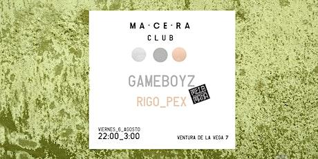 GAMEBOYZ en MADRID entradas