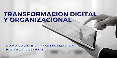 Master Class sobre transformación digital y cultural entradas