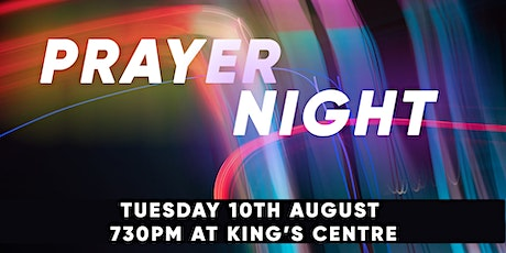 Indoor Prayer Meeting - 7:30pm, TUESDAY 10th August tickets