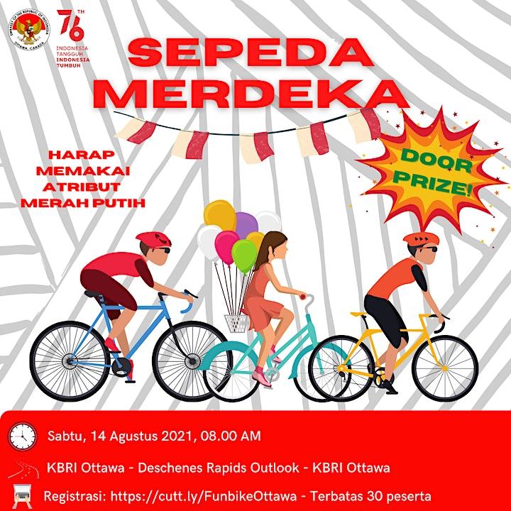 Sepeda Merdeka: Fun Bike HUT RI ke-76 image