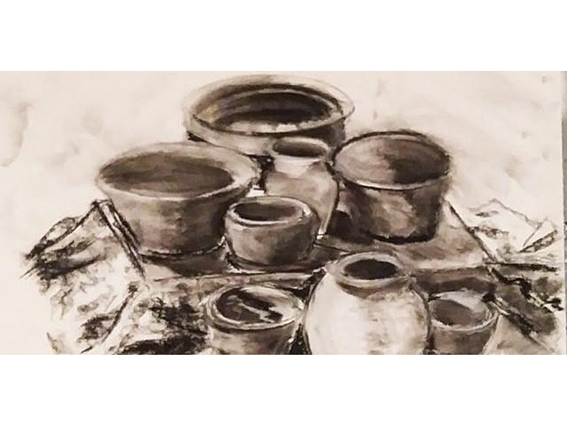 Drawing and Painting with Dennis Hart (Ages 13-15)