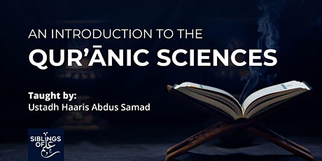 Introduction to the Qur'anic Sciences tickets