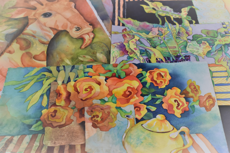 Intermediate & Advanced Watercolor w/ Glenda Drennen (Adult-Painting)