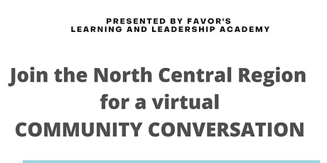 North Central Community Conversation tickets
