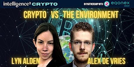Debate: Crypto vs The Environment tickets