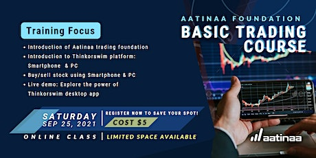 Aatinaa Foundation and Basic Trading Course tickets