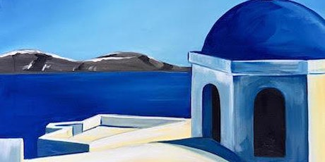 Paint and Sip - Santorini tickets