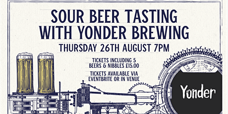 Sour Tasting With  Yonder Brewing tickets