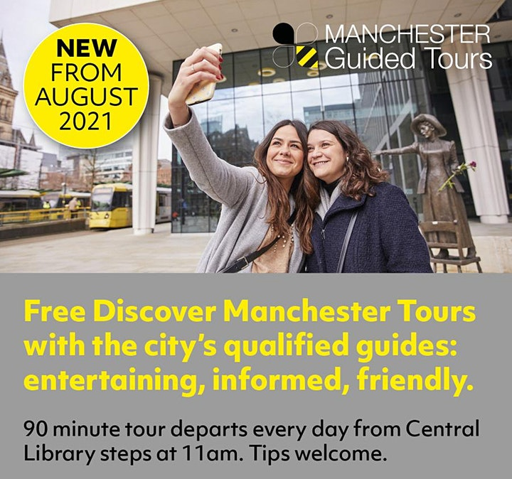 FREE Discover Manchester Guided Walking Tour FREE Manchester Guided Tours image