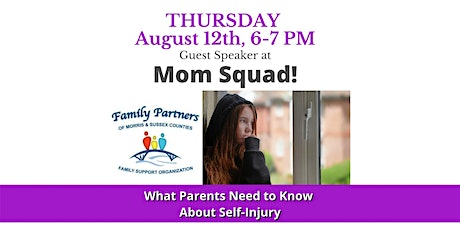What Parents Need to Know About Self-Injury tickets