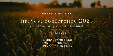 Harvest 'Conference' 2021 tickets