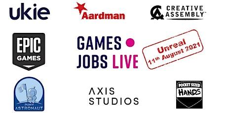 Unreal Jobs Live tickets