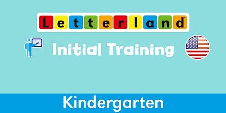 Letterland Initial Kindergarten Virtual Training  [1588] tickets