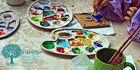 KINnect Pottery Painting at Fired Up Pottery for Relative  Families:Madison tickets