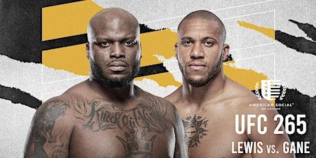 UFC 265 - Lewis vs. Gane tickets