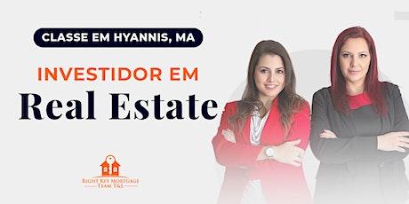 Investidor em Real Estate tickets