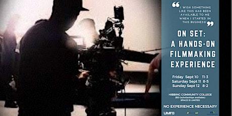 UMFO WORKSHOP ON SET 3 DAY FILMMAKING EXPERIENCE tickets