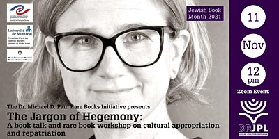 The Jargon of Hegemony: a book talk and rare book workshop