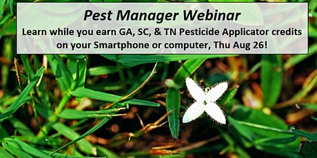 Pest Manager Webinar: Prevent Application Mistakes & Perennial Weed Control tickets