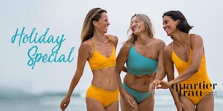 Holiday Special – Ihre  perfekte organic Sonnenpflege! Tickets
