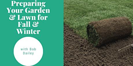 Gardening with Bob Dailey tickets