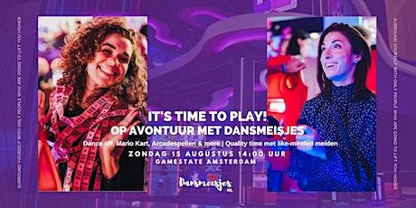 Naar Gamestate met Dansmeisjes! De leukste meiden tussen de 23 & 35 jaar tickets