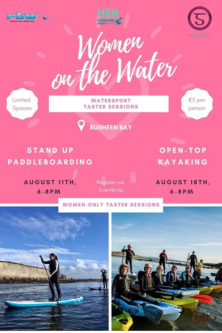 Women on The Water- Stand Up Paddleboard Taster Session image