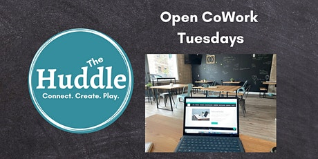 Open CoWork Tuesdays at the Huddle tickets