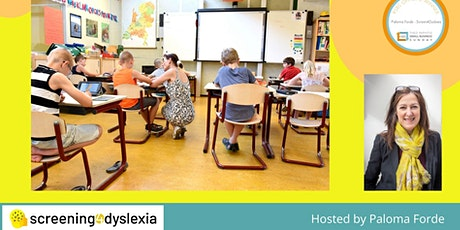 Dyslexia - Success in the classroom tickets