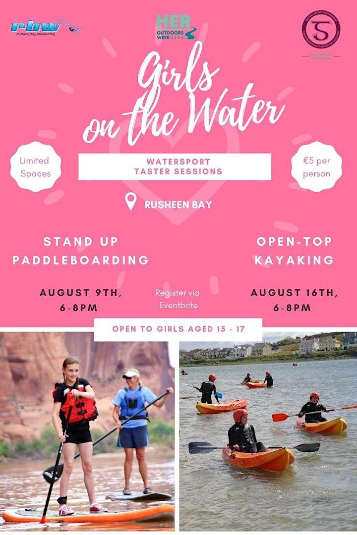 Girls on The Water- Kayak Taster Session image