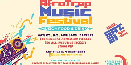 AfroTrap Music Festival tickets