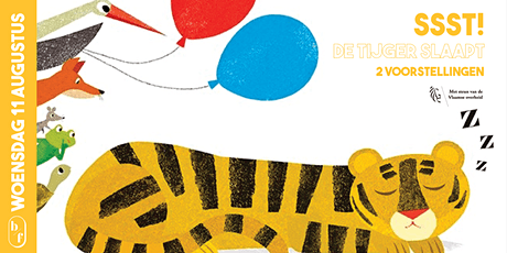 De Bloemfabriek - Kindertheater: De tijger slaapt tickets