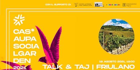 TALK & Taj biglietti